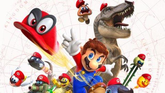 Super Mario Odyssey Hooperfr